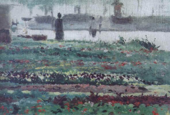 Le Jardin au Bord de L' Eau