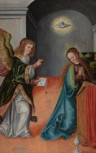 Annunciation, by Lucas Cranach the Elder, 1515