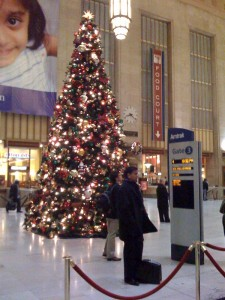 Station Christmas tree