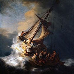 Rembrandt, Storm on the Lake of Galilee